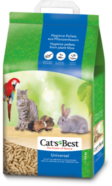 Cat´s Best UNIVERSAL kasvikuitupelletti 5,5kg/10l