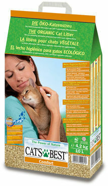 Cat´s Best Comfort kissanhiekka 4,3 kg/10 l
