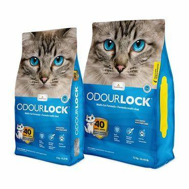 Odourlock, hajustamaton kissanhiekka, 6kg