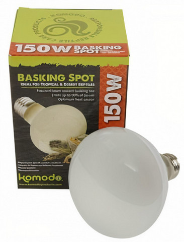 Komodo Basking Spot Lämpölamppu ES 150W