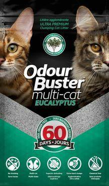 Odour Buster Multi-Cat Eukalyptus 12 kg