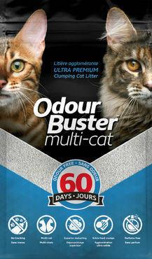 Odour Buster Multi-Cat 12 kg