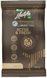 Nature's Protection Lifestyle, herkkutikku vaalea kala 150g