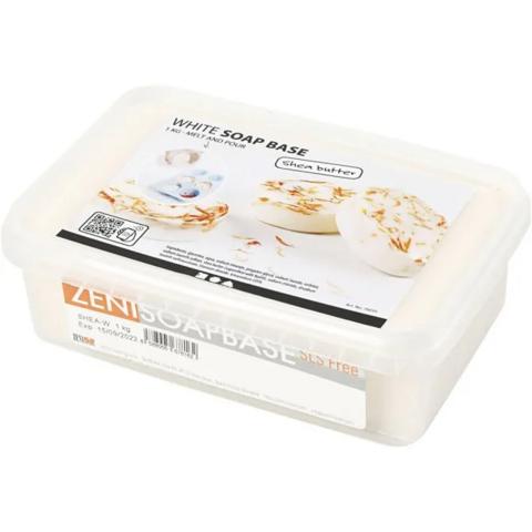 Sheavoi saippuamassa, valkoinen, 1 kg