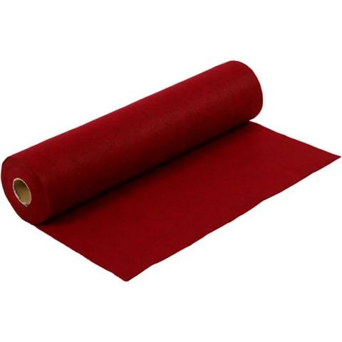 Askarteluhuopa, punainen, 5m/1rll