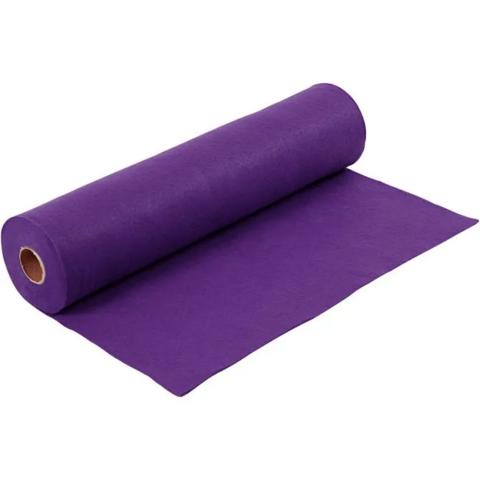 Askarteluhuopa, violetti, 5m/1rll