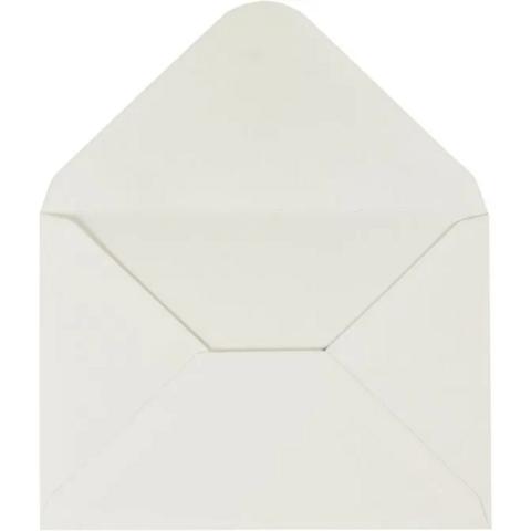 Kirjekuori, 110g, luonnonvalkonen, 10kpl/pkk
