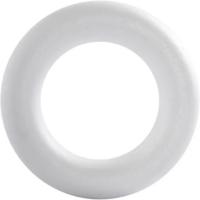 Styroxrengas, valkoinen, ⌀21,5