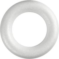 Styroxrengas, valkoinen, ⌀35