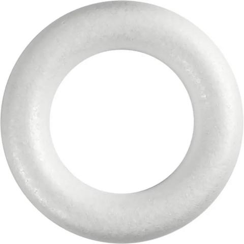Styroxrengas, valkoinen, ⌀25