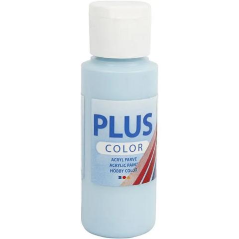 Plus Color- askartelumaali, 60ml, jäänsininen
