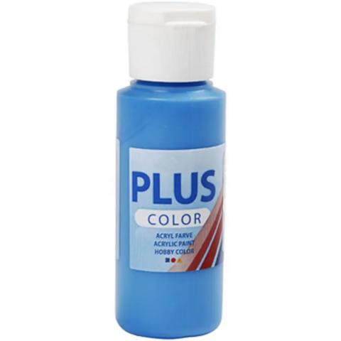 Plus Color- askartelumaali, 60ml, perussininen