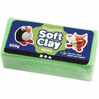 Soft Clay, neonvihreä
