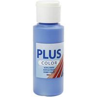 Plus Color, askartelumaali, 60ml, koboltinsininen