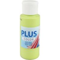 Plus Color, askartelumaali, 60ml, limenvihreä