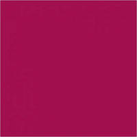 Plus Color, askartelumaali, 60ml, peruspunainen