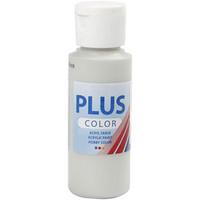 Plus Color, askartelumaali, 60ml, vaaleanharmaa