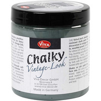 Chalky Vintage Look -maali, dark green (702), 250ml
