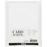 Korttipohjat ja kirjekuoret, Valkoinen