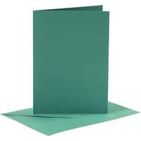 Korttipohjat ja kirjekuoret, Tummanvihreä