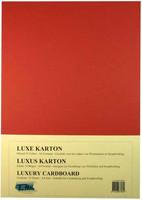 Luxury A4 Kartonki, Joulunpunainen, 5kpl