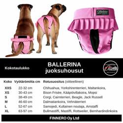 Ballerina juoksuhousut, pinkki