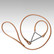 Dulbuk-Show talutin, 60cm x 35cm, vaaleanruskea
