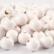 Puuhelmet, valkoinen, 20g/pkk