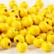 Puuhelmet, keltainen, 15g/pkk