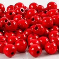 Puuhelmet, punainen, 15g/pkk