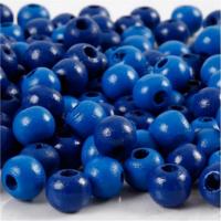 Puuhelmet, sininen, 15g/pkk