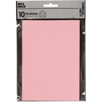 Kirjekuori, 110g, vaaleanpunainen, 10kpl/pkk