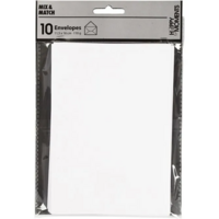 Kirjekuori, 110g, valkoinen, 10kpl/pkk