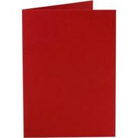 Korttipohja, 220g, punainen, 10kpl/pkk