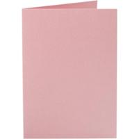 Korttipohja, 220g, rosa, 10kpl/pkk