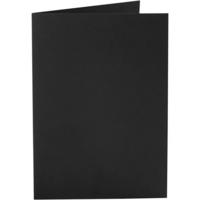 Korttipohja, 220g, musta, 10kpl/pkk