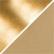 Nahkapaperi, 350g, kulta, 1m/1rll