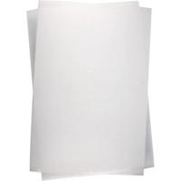 Kutistemuovilevyt, matta läpinäkyvä, 10ark/pkk