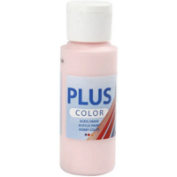 Plus Color- askartelumaali, 60ml, soft pink