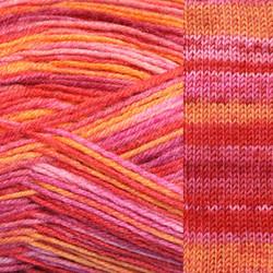 Kirjo-Pirkka kirjava Puna-oranssi