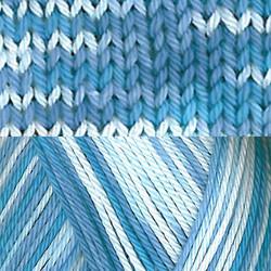 Pirkka-Cottonyarn blue-white