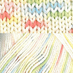 Pirkka Cottonyarn light variegated