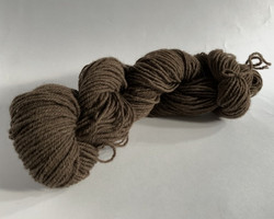 3-ply finnish woolen yarn Brown