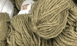 3-ply finnish woolen yarn with nylon Light brown