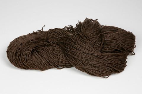Veera-pellavalanka Tumman ruskea 100g