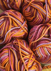 Pirkka Cottonyarn Variegated Fire
