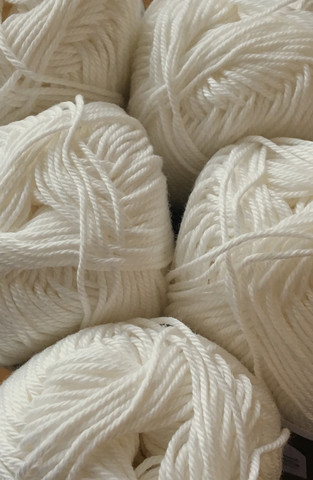 Pirkka Cottonyarn Natural White