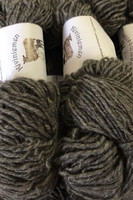 Loosely threaded woolyarn Grey