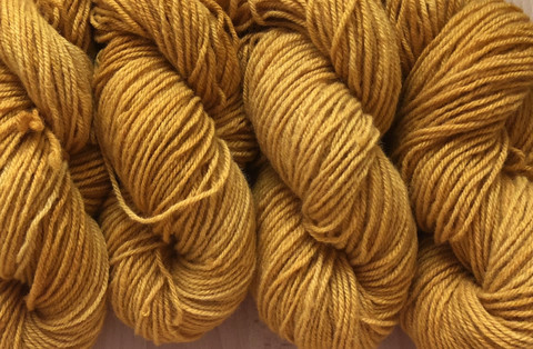 Sockyarn Yellow ocher