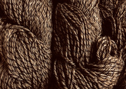100% finewool yarn Brown